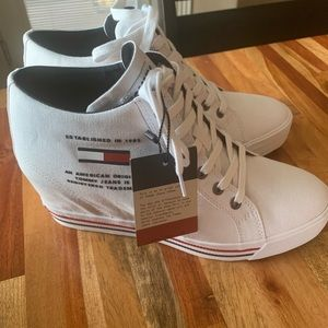 Tommy Hilfiger Wedge Trainers